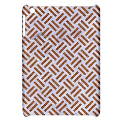 Woven2 White Marble & Rusted Metal (r) Apple Ipad Mini Hardshell Case by trendistuff