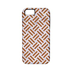 WOVEN2 WHITE MARBLE & RUSTED METAL (R) Apple iPhone 5 Classic Hardshell Case (PC+Silicone)