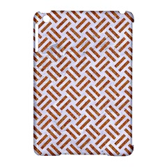WOVEN2 WHITE MARBLE & RUSTED METAL (R) Apple iPad Mini Hardshell Case (Compatible with Smart Cover)