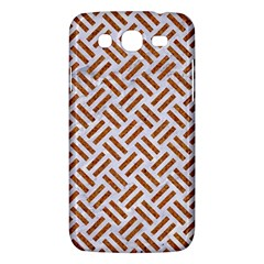 WOVEN2 WHITE MARBLE & RUSTED METAL (R) Samsung Galaxy Mega 5.8 I9152 Hardshell Case