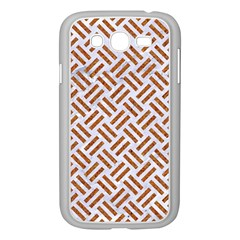 WOVEN2 WHITE MARBLE & RUSTED METAL (R) Samsung Galaxy Grand DUOS I9082 Case (White)