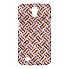 WOVEN2 WHITE MARBLE & RUSTED METAL (R) Samsung Galaxy Mega 6.3  I9200 Hardshell Case