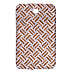 WOVEN2 WHITE MARBLE & RUSTED METAL (R) Samsung Galaxy Tab 3 (7 ) P3200 Hardshell Case