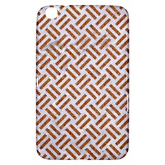 WOVEN2 WHITE MARBLE & RUSTED METAL (R) Samsung Galaxy Tab 3 (8 ) T3100 Hardshell Case