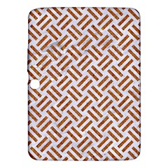 WOVEN2 WHITE MARBLE & RUSTED METAL (R) Samsung Galaxy Tab 3 (10.1 ) P5200 Hardshell Case