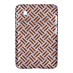 WOVEN2 WHITE MARBLE & RUSTED METAL (R) Samsung Galaxy Tab 2 (7 ) P3100 Hardshell Case