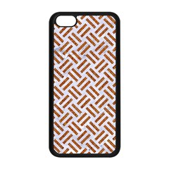 WOVEN2 WHITE MARBLE & RUSTED METAL (R) Apple iPhone 5C Seamless Case (Black)