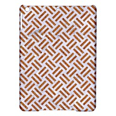 WOVEN2 WHITE MARBLE & RUSTED METAL (R) iPad Air Hardshell Cases