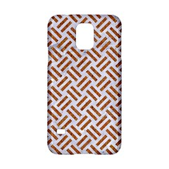 WOVEN2 WHITE MARBLE & RUSTED METAL (R) Samsung Galaxy S5 Hardshell Case