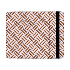 WOVEN2 WHITE MARBLE & RUSTED METAL (R) Samsung Galaxy Tab Pro 8.4  Flip Case