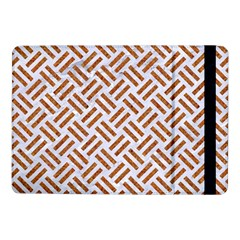 WOVEN2 WHITE MARBLE & RUSTED METAL (R) Samsung Galaxy Tab Pro 10.1  Flip Case