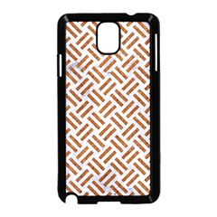 WOVEN2 WHITE MARBLE & RUSTED METAL (R) Samsung Galaxy Note 3 Neo Hardshell Case (Black)