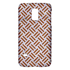 WOVEN2 WHITE MARBLE & RUSTED METAL (R) Galaxy S5 Mini