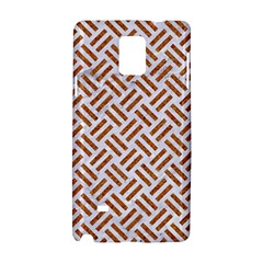 WOVEN2 WHITE MARBLE & RUSTED METAL (R) Samsung Galaxy Note 4 Hardshell Case