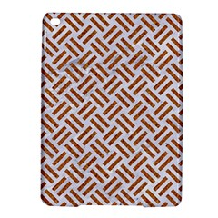 WOVEN2 WHITE MARBLE & RUSTED METAL (R) iPad Air 2 Hardshell Cases