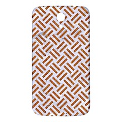 WOVEN2 WHITE MARBLE & RUSTED METAL (R) Samsung Galaxy Mega I9200 Hardshell Back Case