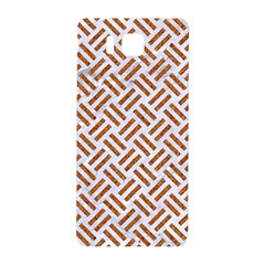 WOVEN2 WHITE MARBLE & RUSTED METAL (R) Samsung Galaxy Alpha Hardshell Back Case