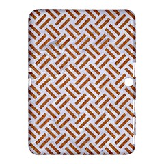 WOVEN2 WHITE MARBLE & RUSTED METAL (R) Samsung Galaxy Tab 4 (10.1 ) Hardshell Case