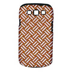 Woven2 White Marble & Rusted Metal Samsung Galaxy S Iii Classic Hardshell Case (pc+silicone) by trendistuff
