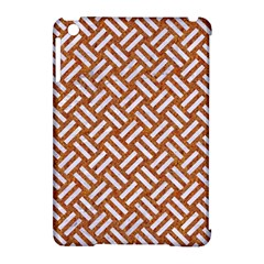 Woven2 White Marble & Rusted Metal Apple Ipad Mini Hardshell Case (compatible With Smart Cover) by trendistuff