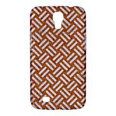 Woven2 White Marble & Rusted Metal Samsung Galaxy Mega 6 3  I9200 Hardshell Case by trendistuff