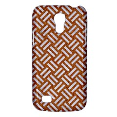 Woven2 White Marble & Rusted Metal Galaxy S4 Mini by trendistuff
