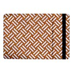 WOVEN2 WHITE MARBLE & RUSTED METAL Samsung Galaxy Tab Pro 10.1  Flip Case Front