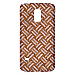Woven2 White Marble & Rusted Metal Galaxy S5 Mini by trendistuff