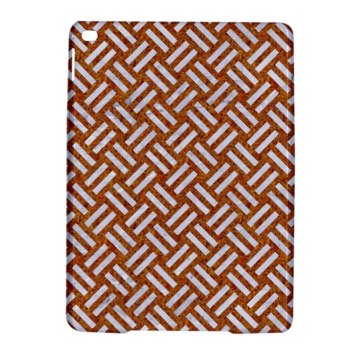 WOVEN2 WHITE MARBLE & RUSTED METAL iPad Air 2 Hardshell Cases