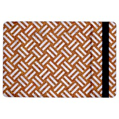 Woven2 White Marble & Rusted Metal Ipad Air 2 Flip by trendistuff