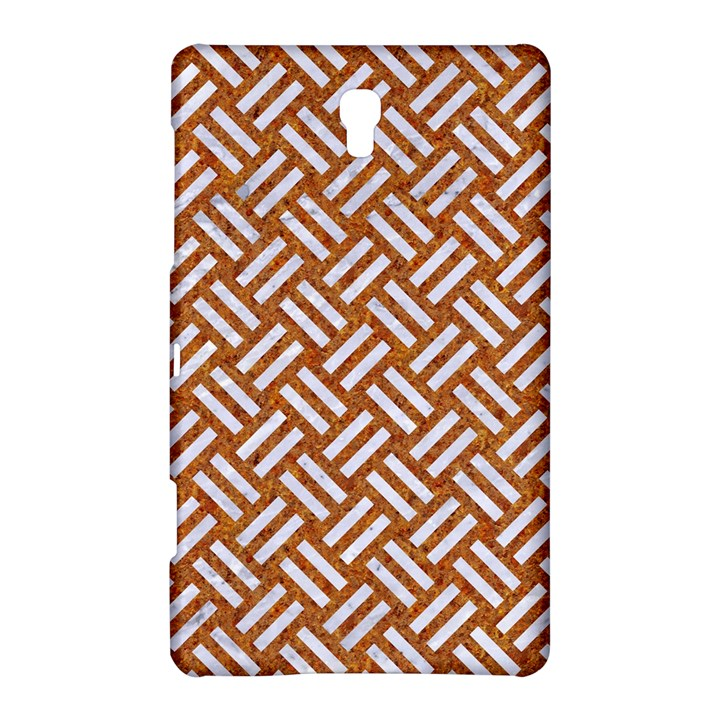 WOVEN2 WHITE MARBLE & RUSTED METAL Samsung Galaxy Tab S (8.4 ) Hardshell Case