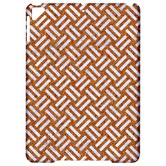 Woven2 White Marble & Rusted Metal Apple Ipad Pro 9 7   Hardshell Case by trendistuff
