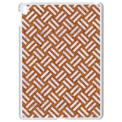 Woven2 White Marble & Rusted Metal Apple Ipad Pro 9 7   White Seamless Case by trendistuff