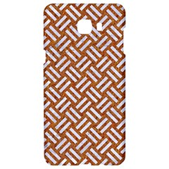 Woven2 White Marble & Rusted Metal Samsung C9 Pro Hardshell Case  by trendistuff