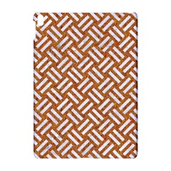 Woven2 White Marble & Rusted Metal Apple Ipad Pro 10 5   Hardshell Case by trendistuff