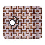 WOVEN1 WHITE MARBLE & RUSTED METAL (R) Galaxy S3 (Flip/Folio) Front