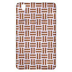 Woven1 White Marble & Rusted Metal (r) Samsung Galaxy Tab Pro 8 4 Hardshell Case