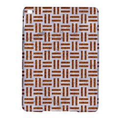 Woven1 White Marble & Rusted Metal (r) Ipad Air 2 Hardshell Cases by trendistuff