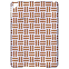 Woven1 White Marble & Rusted Metal (r) Apple Ipad Pro 9 7   Hardshell Case by trendistuff