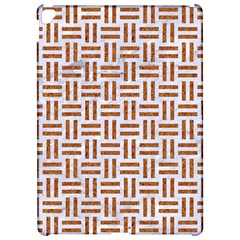 Woven1 White Marble & Rusted Metal (r) Apple Ipad Pro 12 9   Hardshell Case by trendistuff