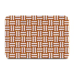 WOVEN1 WHITE MARBLE & RUSTED METAL Plate Mats
