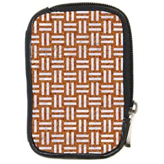 WOVEN1 WHITE MARBLE & RUSTED METAL Compact Camera Cases