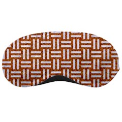 WOVEN1 WHITE MARBLE & RUSTED METAL Sleeping Masks