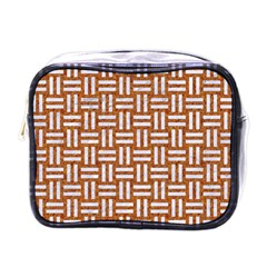 WOVEN1 WHITE MARBLE & RUSTED METAL Mini Toiletries Bags