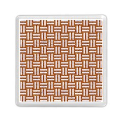 WOVEN1 WHITE MARBLE & RUSTED METAL Memory Card Reader (Square)