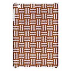 WOVEN1 WHITE MARBLE & RUSTED METAL Apple iPad Mini Hardshell Case