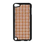 WOVEN1 WHITE MARBLE & RUSTED METAL Apple iPod Touch 5 Case (Black) Front