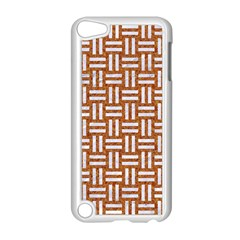 WOVEN1 WHITE MARBLE & RUSTED METAL Apple iPod Touch 5 Case (White)