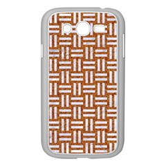 WOVEN1 WHITE MARBLE & RUSTED METAL Samsung Galaxy Grand DUOS I9082 Case (White)