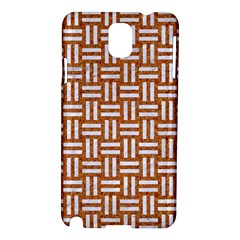 WOVEN1 WHITE MARBLE & RUSTED METAL Samsung Galaxy Note 3 N9005 Hardshell Case
